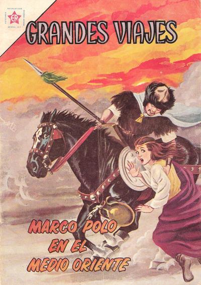 Cover for Grandes Viajes (Editorial Novaro, 1963 series) #3