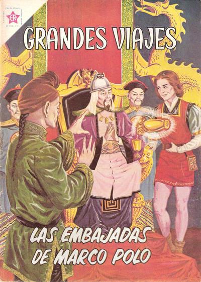 Cover for Grandes Viajes (Editorial Novaro, 1963 series) #4