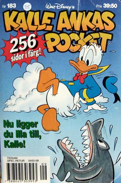 Cover for Kalle Ankas pocket (Serieförlaget [1980-talet], 1993 series) #183 - Nu ligger du illa till, Kalle!