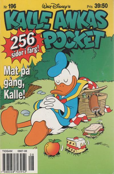 Cover for Kalle Ankas pocket (Serieförlaget [1980-talet], 1993 series) #196 - Mat på gång, Kalle!