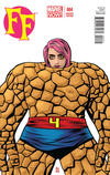 Cover for FF (Marvel, 2013 series) #4 [Miss Thing Variant Cover by Michael Allred]