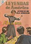Cover for Leyendas de América (Editorial Novaro, 1956 series) #113