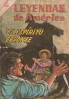Cover for Leyendas de América (Editorial Novaro, 1956 series) #116
