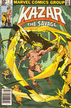 Cover for Ka-Zar the Savage (Marvel, 1981 series) #2 [Newsstand]