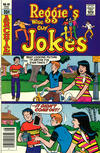 Cover for Reggie's Wise Guy Jokes (Archie, 1968 series) #46