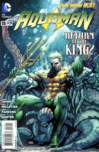 Cover Thumbnail for Aquaman (DC, 2011 series) #18