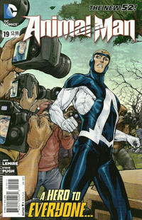 Cover Thumbnail for Animal Man (DC, 2011 series) #19