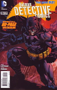 Cover Thumbnail for Detective Comics (DC, 2011 series) #19