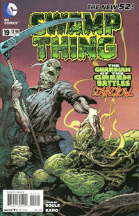 Cover Thumbnail for Swamp Thing (DC, 2011 series) #19