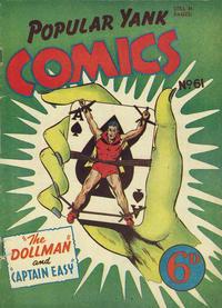 Cover Thumbnail for Popular Yank Comics (Ayers & James, 1950 ? series) #61