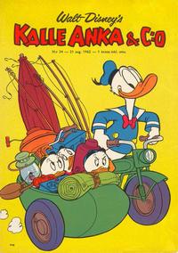 Cover Thumbnail for Kalle Anka & C:o (Hemmets Journal, 1957 series) #34/1962