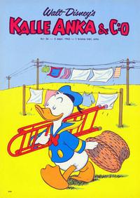 Cover Thumbnail for Kalle Anka & C:o (Hemmets Journal, 1957 series) #36/1963