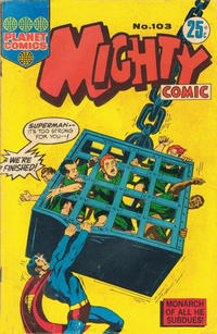 Cover Thumbnail for Mighty Comic (K. G. Murray, 1960 series) #103