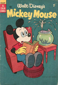 Cover Thumbnail for Walt Disney's Mickey Mouse (W. G. Publications; Wogan Publications, 1956 series) #4