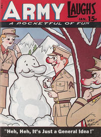 Cover Thumbnail for Army Laughs (Prize, 1941 series) #v4#10