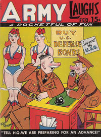 Cover Thumbnail for Army Laughs (Prize, 1941 series) #v1#12
