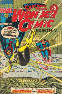 Cover Thumbnail for Superman Presents Wonder Comic Monthly (K. G. Murray, 1965 ? series) #124