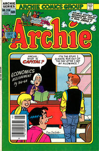 Cover Thumbnail for Archie (Archie, 1959 series) #316