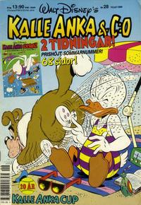 Cover Thumbnail for Kalle Anka & C:o (Hemmets Journal, 1957 series) #28/1989