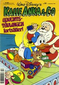 Cover Thumbnail for Kalle Anka & C:o (Hemmets Journal, 1957 series) #50/1989