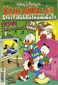 Cover Thumbnail for Kalle Anka & C:o (Hemmets Journal, 1957 series) #51-52/1989