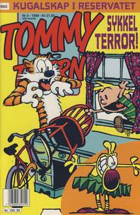 Cover Thumbnail for Tommy og Tigern (Bladkompaniet / Schibsted, 1989 series) #5/1999