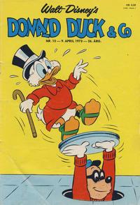 Cover Thumbnail for Donald Duck & Co (Hjemmet / Egmont, 1948 series) #15/1973