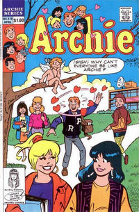 Cover Thumbnail for Archie (Archie, 1959 series) #376 [Direct]
