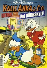 Cover for Kalle Anka & C:o (Hemmets Journal, 1957 series) #13/1990