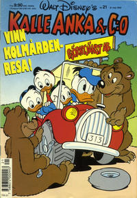 Cover Thumbnail for Kalle Anka & C:o (Hemmets Journal, 1957 series) #21/1990