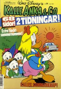 Cover Thumbnail for Kalle Anka & C:o (Hemmets Journal, 1957 series) #28/1990