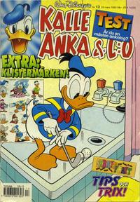 Cover Thumbnail for Kalle Anka & C:o (Serieförlaget [1980-talet], 1992 series) #13/1993
