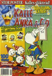 Cover Thumbnail for Kalle Anka & C:o (Serieförlaget [1980-talet], 1992 series) #1/1994