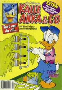 Cover for Kalle Anka & C:o (Serieförlaget [1980-talet], 1992 series) #4/1994