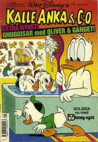 Cover Thumbnail for Kalle Anka & C:o (Hemmets Journal, 1957 series) #5/1990