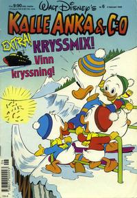 Cover Thumbnail for Kalle Anka & C:o (Hemmets Journal, 1957 series) #6/1990