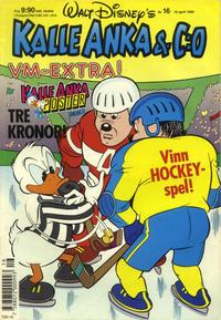 Cover Thumbnail for Kalle Anka & C:o (Hemmets Journal, 1957 series) #16/1990