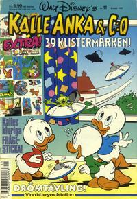Cover Thumbnail for Kalle Anka & C:o (Hemmets Journal, 1957 series) #11/1990