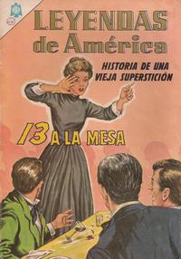Cover Thumbnail for Leyendas de América (Editorial Novaro, 1956 series) #113