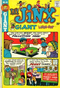 Cover Thumbnail for Li'l Jinx Giant Laughout (Archie, 1971 series) #43