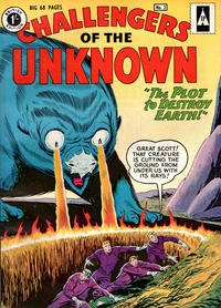 Cover Thumbnail for Challengers of the Unknown (Thorpe & Porter, 1960 series) #3