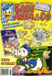 Cover Thumbnail for Kalle Anka & C:o (Serieförlaget [1980-talet], 1992 series) #36/1994