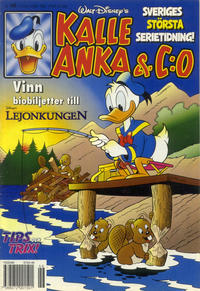 Cover Thumbnail for Kalle Anka & C:o (Serieförlaget [1980-talet], 1992 series) #46/1994