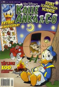 Cover Thumbnail for Kalle Anka & C:o (Serieförlaget [1980-talet], 1992 series) #49/1994