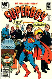 Cover Thumbnail for The New Adventures of Superboy (DC, 1980 series) #8 [Whitman]
