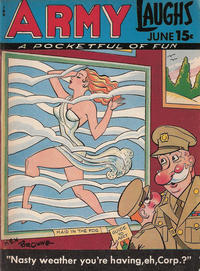 Cover Thumbnail for Army Laughs (Prize, 1941 series) #v7#3