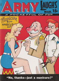Cover Thumbnail for Army Laughs (Prize, 1941 series) #v7#12