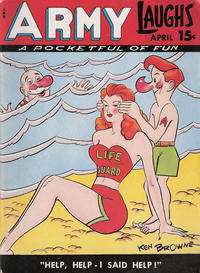 Cover Thumbnail for Army Laughs (Prize, 1941 series) #v8#1