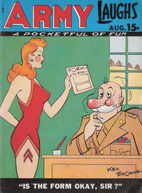 Cover Thumbnail for Army Laughs (Prize, 1941 series) #v8#5