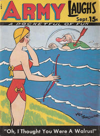 Cover Thumbnail for Army Laughs (Prize, 1941 series) #v8#6